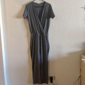Zara Jersey Wrap Jumpsuit
